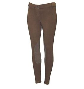 Brown Elation pull on breeches