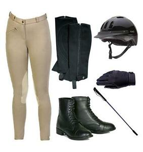 Equestrian apparel, complete set, youth size