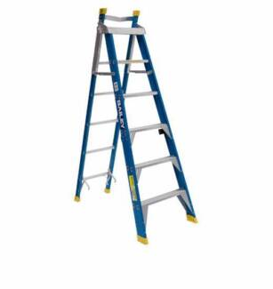 1.8mtr - BAILEY PROFESSIONAL PUNCHLOCK STEP EXTENSION STEPLADDER