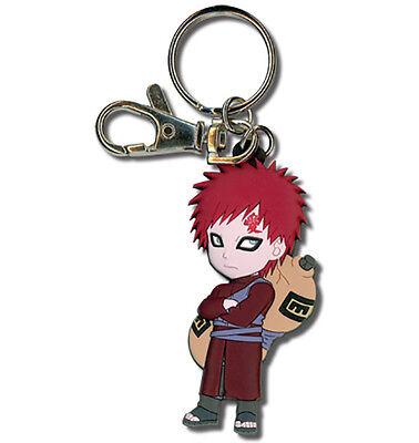 Naruto Shippuden SD Chibi Kazekage Gaara PVC Key Chain Licensed GE Animation New