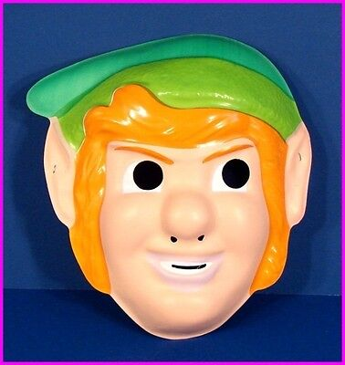 LINK of The LEGEND of ZELDA Halloween Costume MASK 52231 Ben Cooper 1988 NEW