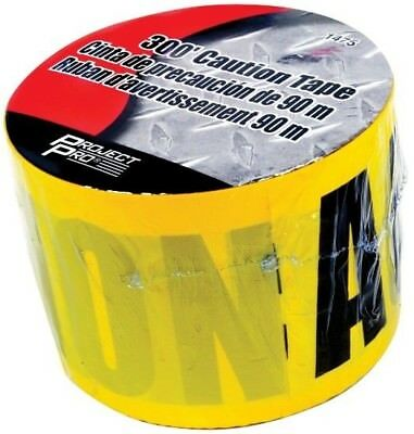 WILMAR TOOLS 300' ROLL BRIGHT YELLOW CAUTION TAPE 1475