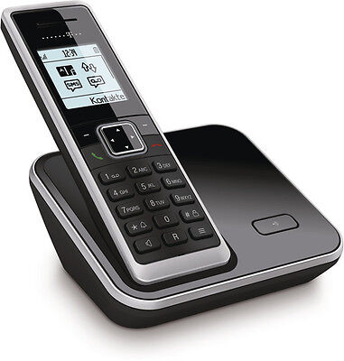 Telefon (Telekom Sinus 206 Schwarz Schnurlos Telefon Dect Schnurloses Gerät )