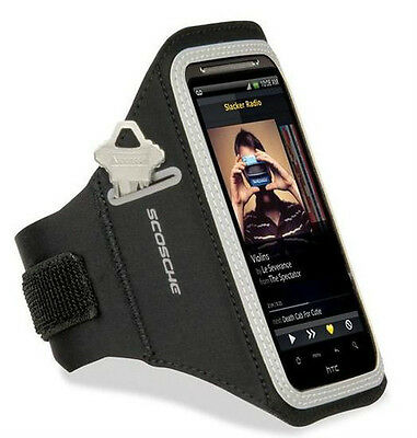 Scosche soundKASE Ultra-light Sport Armband Case for most Smartphones and iPhone