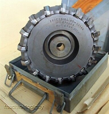 Ingersoll 8 Indexable Face Mill Cutter Set Free Usa Shipping