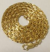 14k Gold Solid Yellow Rope Chain