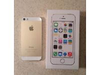 iphone 5s gold excellent condition