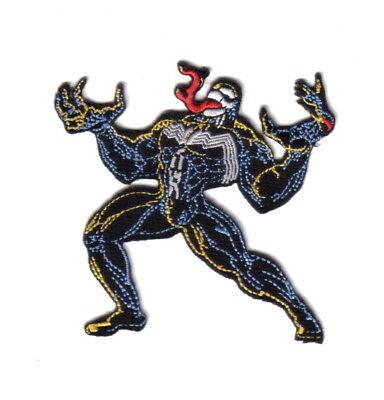 Amazing Spider Man Appliques - The Amazing Spider-Man Venom Villain Figure Embroidered 4