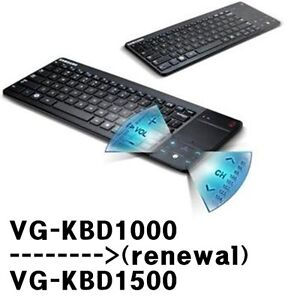 Samsung 2012 NEW 3D Smart TV Keyboard Bluetooth Wireless VG-KBD1000 & Touch Pad