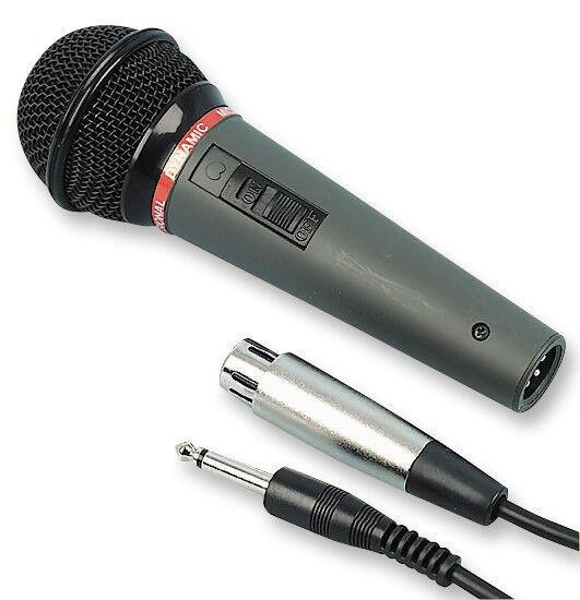 DM-520 DYNAMIC VOCAL HANDHELD MICROPHONE INC LEAD HIGH QUALITY BAND DJ DISCO