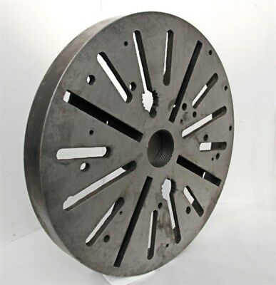 Quality 20 Lathe Face Plate With 3 Threaded Mount