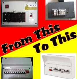 Fuse box (consumer unit) replacement