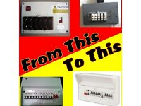 Fuse box (consumer unit) replacement