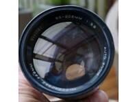 Vivitar Telezoom Auto Lens Made in Japan 1:38 85-205mm M42 screw