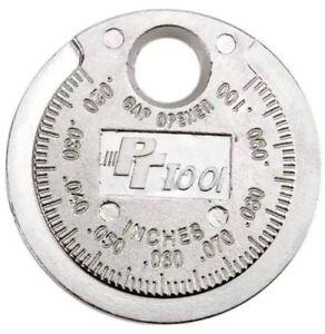 Genuine PT Tool Spark Plug Gap Gauge Gapper Feeler Performance Tool W80540
