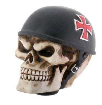 Iron Cross Skull Skeleton Car Gear Shifters Automobile Shift Knob Handle