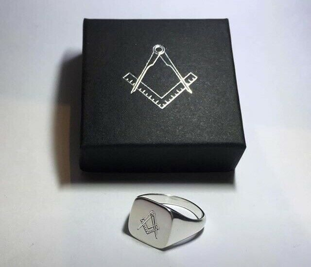 fa0905f702142 Masonic Master Masons rings Solid Sterling Silver boxed new | in Wimborne,  Dorset | Gumtree