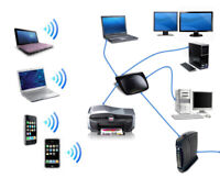Computer and network services, setup, repair, maintenance