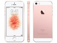 Apple iPhone SE - Rose Gold 16GB 02/ Giff Gaff - Comes with 6 months Apple Warranty!!!!!!