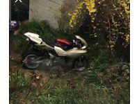 110cc geared and clutch Midi moto Bike