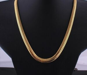 GIVE YOUR OFFERS 24K GOLD NECKLACE MEN