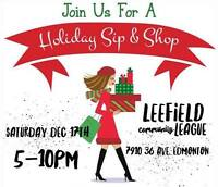 Holiday Sip n Shop!