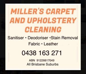 Carpet cleaning End of lease/inspection sofas rugs leather cleaning