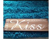 Wooden Sign - NEW