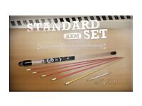 Super rods / electrical cable support