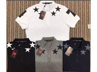 Star 74 Givenchy Polo Shirt Collar