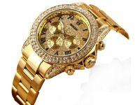 DIAMOND AND GOLD ROLEX £80