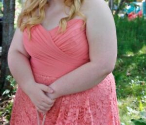 Formal Plus Size Prom/Bridesmaid dress