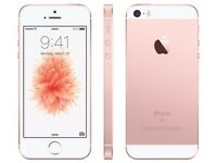Apple iPhone SE, Rose Gold 32GB -Use with any Sim - Comes with Apple Warranty till August 2018 !!!
