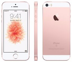 Apple Iphone SE Rose Gold 16gb With box & Accessories!! - Come In And Buy In Confidence!!