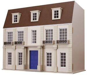The Morcott Georgian Miniature 12th Scale Dolls House barbaras mouldings