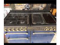 Rangeraster LPG double cooker