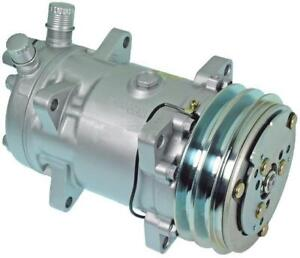 MASSEY SANDEN COMPRESSOR 12V 2 GRV 132mm  520-9120