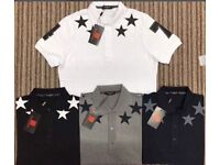 Star 74 Givenchy Polo Shirt Collar