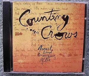 Counting Crows CD - August and Everything After. Mint Condition