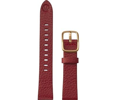 B Nd Hadley Roma Bnd200 Mode 18Mm Red Genuine Leather Android Wear Watch Band