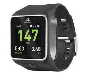 ADIDAS-miCOACH-SMART-RUN-BLACK-GPS-HEAR-RATE-MONITOR-FITNESS-WATCH-BRAND-NEW