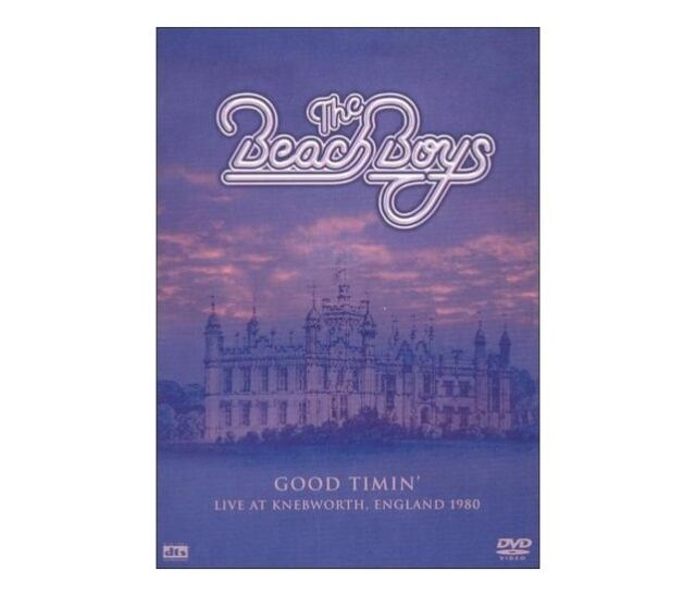 G17 BRAND NEW SEALED Good Timin Live At Knebworth 1980 by The Beach Boys (DVD)
