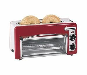Toastation grille-pain/four 2 en 1 Hamilton Beach ( 22703H )
