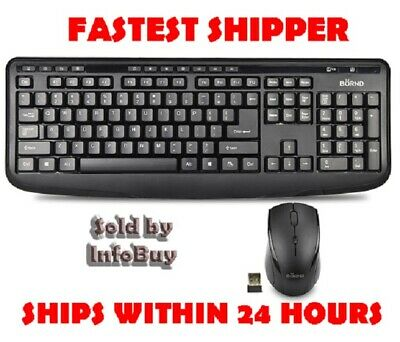 Wireless Multimedia Keyboard w/mouse M610 Water PROOF 2.4GHz 104-Key-SHIPS IN 24