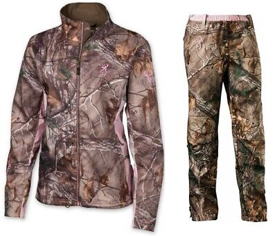 4c2b42102bf70 Browning Hell's Belles Womens Ultra-Lite Hunting Suit Jacket & Pant, RTX,  Large