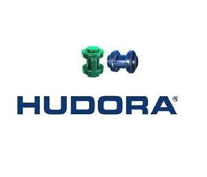 Hudora Ersatzteil 2 Endkappen 25 mm grün / blau für Trampolin 305 / 366 cm NEU