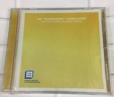 Tiaa Cref Music Cd The Somewhere Compilation Robert Cray Etta James Erykah Badu