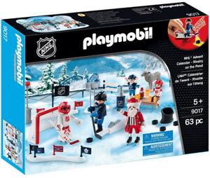 Playmobil LNH - 9017 Calendrier de l'avent - NEUF!