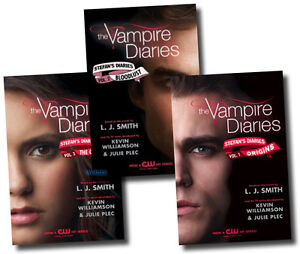 Stefan's Diaries Collection L J smith 3 Books Set (Vampire Diaries Series) NEW