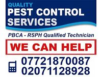 Pest Extermination & Control BedBugs Cockroaches Mice Flea-Islington Camden Dalston Finchley Enfield